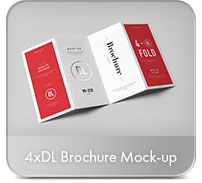 Horizontal A4 Brochure Mock-up - 59