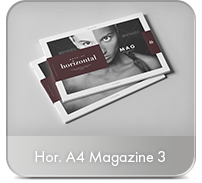 Horizontal A4 Brochure Mock-up - 36