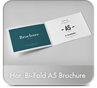 Horizontal A4 Brochure Mock-up - 65