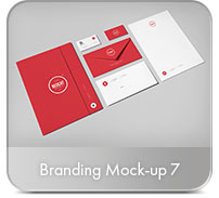 Horizontal A4 Brochure Mock-up - 7