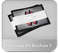 Horizontal A4 Brochure Mock-up - 18