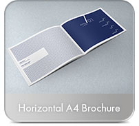 Horizontal A4 Brochure Mock-up - 16