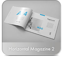Horizontal A4 Brochure Mock-up - 34