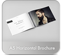Horizontal A4 Brochure Mock-up - 29