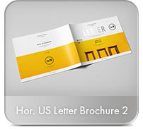 Horizontal A4 Brochure Mock-up - 22
